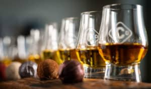 Chocolate and whisky Pairing at the Clydeside Distillery