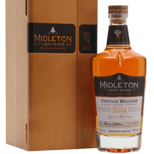Midleton is made from a mix of malted and un-malted barley.