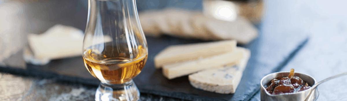 Food pairing for medium-bodied whiskies