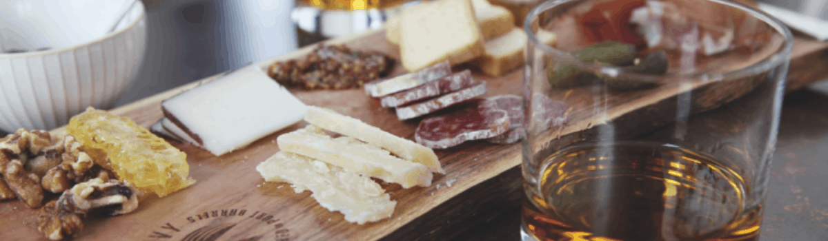 Food pairing for light-bodied whiskies