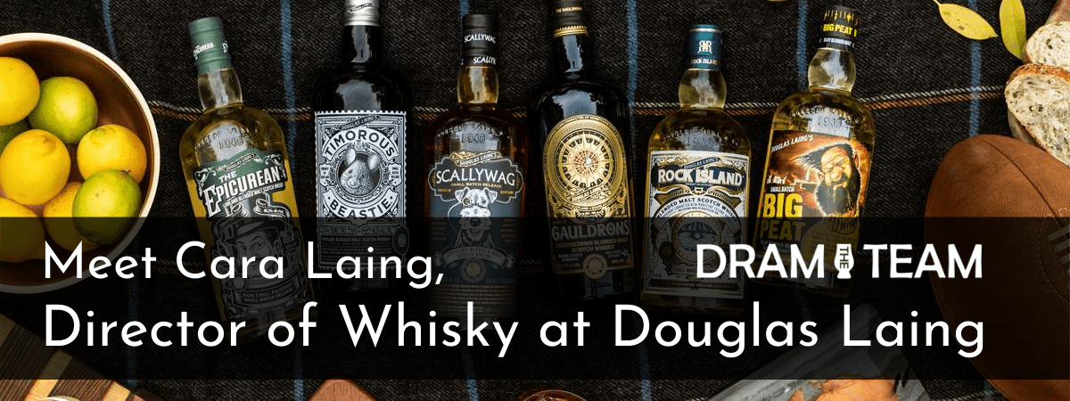Meet Cara Laing, Director of Whisky at Douglas Laing