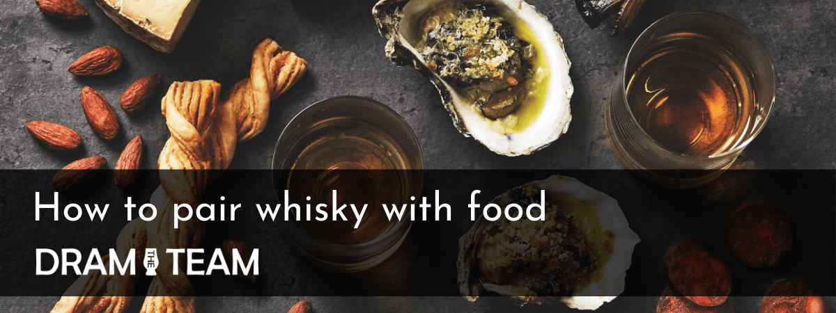 How to pair whisky with food