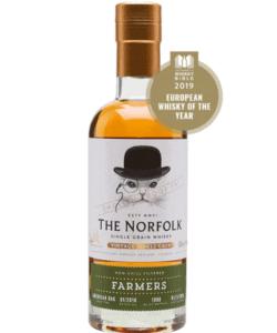 "The English Whisky Company - The Norfolk ""Farmers"" Single Grain Whisky"