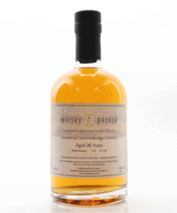 A very special Lowlands whisky: Cameronbridge 36yo Single Grain from Whisky Broker