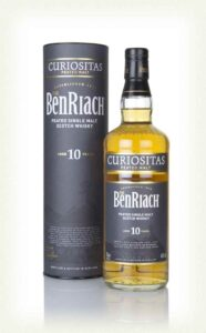 Benriach 10 YO Curiositas, Peated Speyside for under £50
