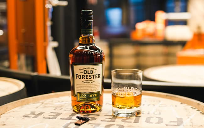 Old Forester launched a rye whiskey