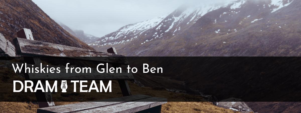 Whisky from Glen to Ben Banner